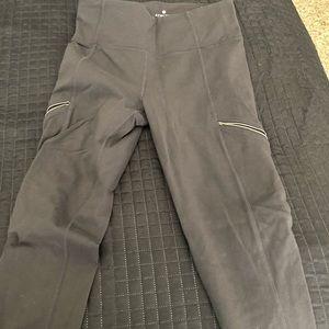 Athleta gray drifter leggings